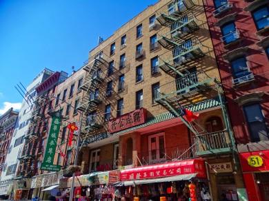 Façade chinatown