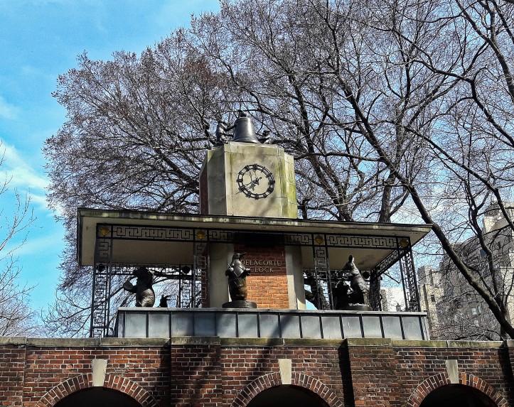 horloge central park 2