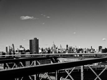 Skyline empire noir et blanc