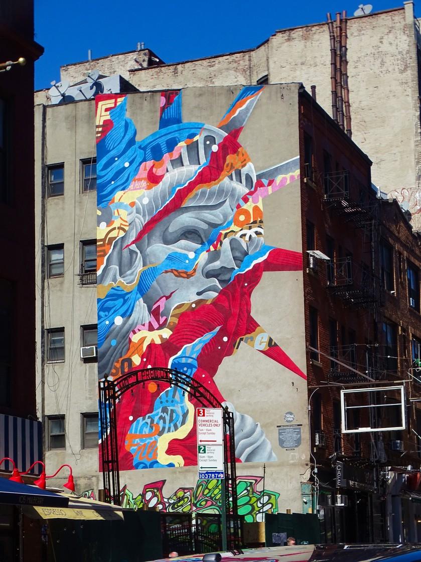 Street art américa couleur