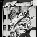 Street-art américa noir etblanc