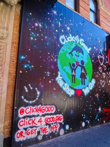Street art terre