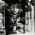 Tag café noir etblanc