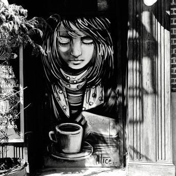 Tag café noir et blanc